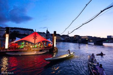 Trinationale S-Bahn-Basel: Floss-Festival Basel