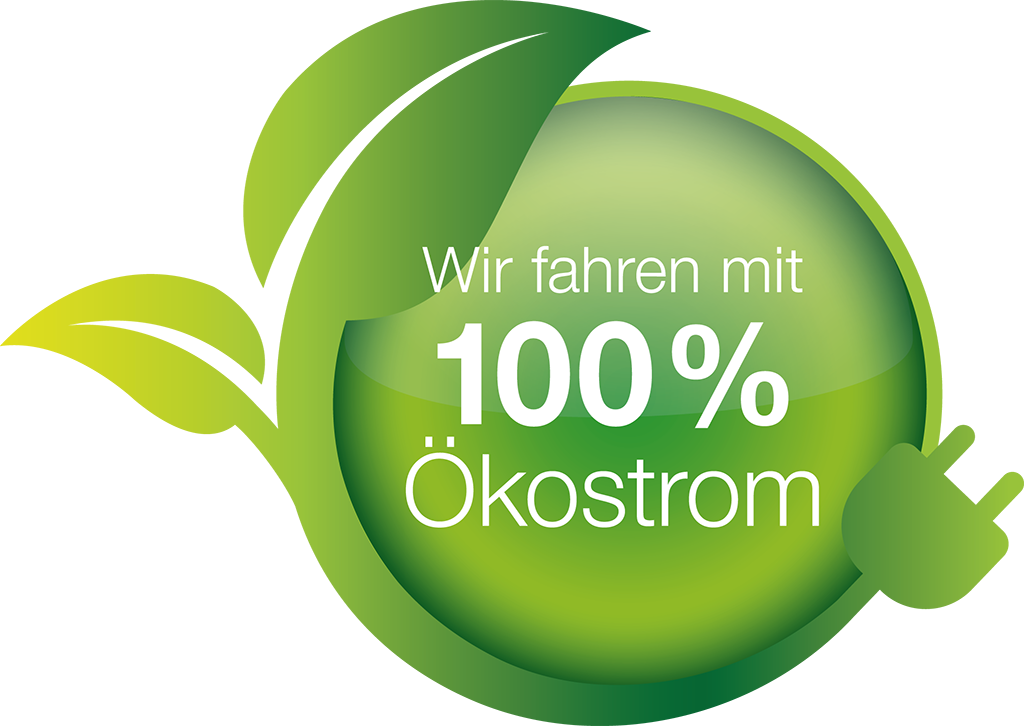 SBB GmbH fährt mit 100% Ökostrom